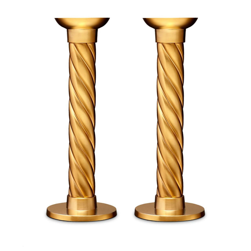 Carrousel Candlesticks - Large - Gold - L'Objet