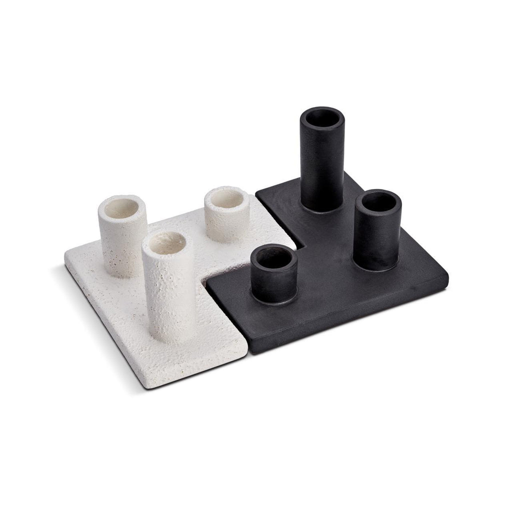 Cubisme Candle Holder - Black - L'Objet