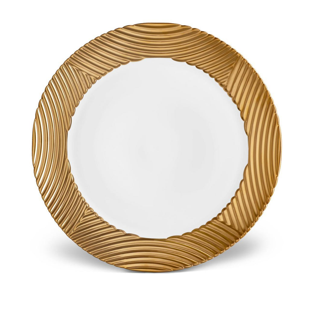 Corde Wide Rim Charger - Gold - L'Objet