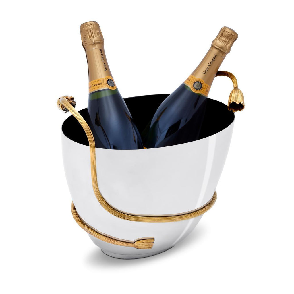 Deco Leaves Champagne Bucket - L'Objet