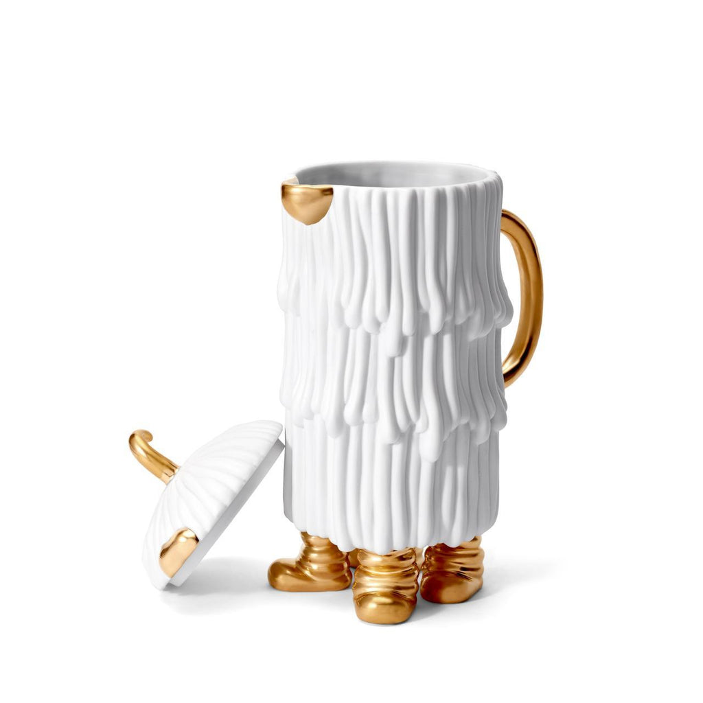 Haas Djuna Coffee & Tea Pot - White - L'Objet