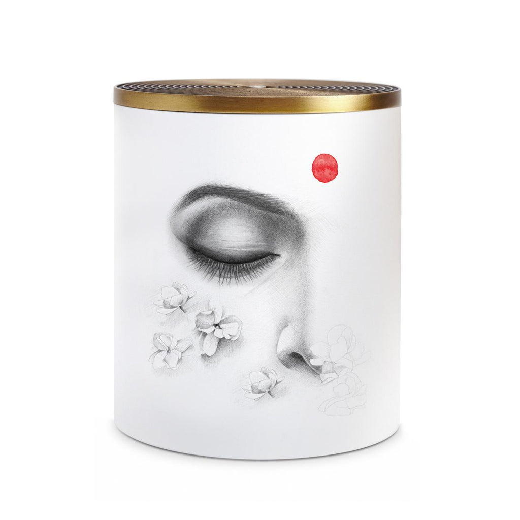 Parfums de Voyage Jasmin d'Inde No.6 Candle - 3-wick Candle - TERTIUS COLLECTION