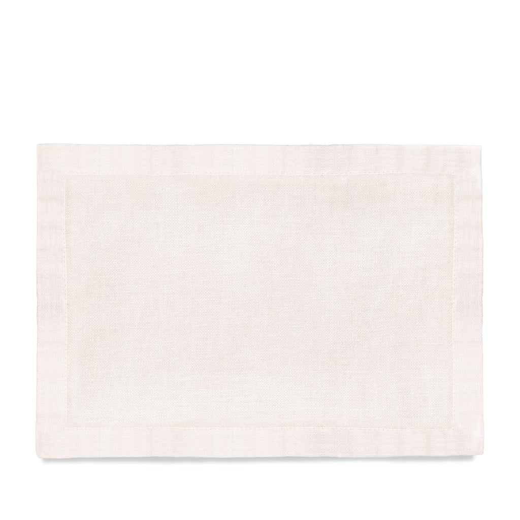 Linen Sateen Placemats (Set of 4) - Ecru - TERTIUS COLLECTION