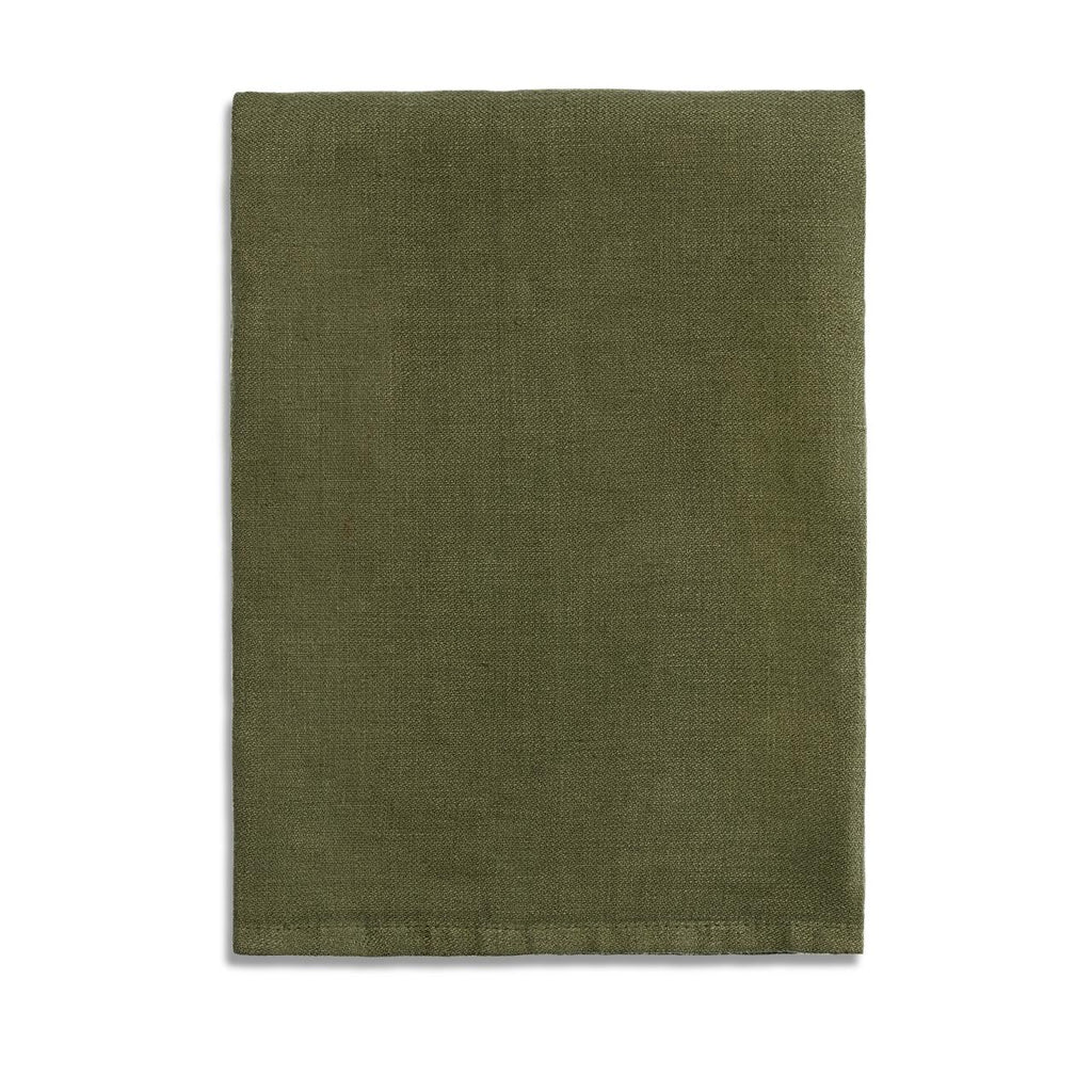 Linen Sateen Napkins (Set of 4) - Olive - TERTIUS COLLECTION
