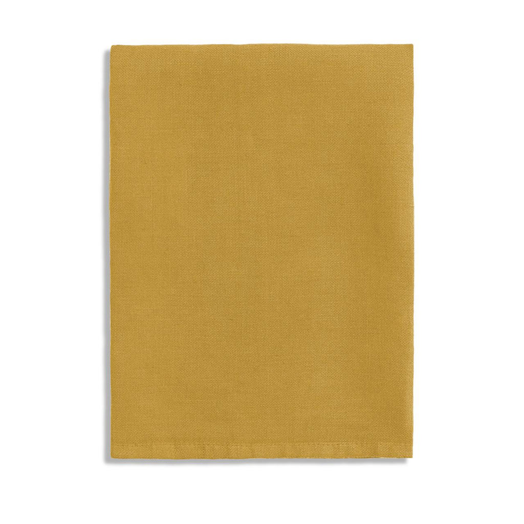 Linen Sateen Napkins (Set of 4) - Mustard - TERTIUS COLLECTION