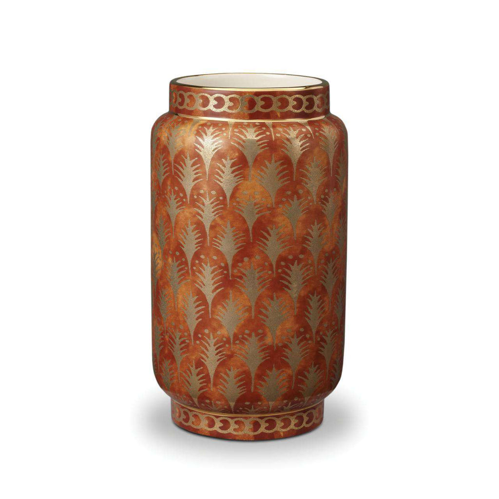 Fortuny Piumette Vase - Medium - Orange - L'Objet