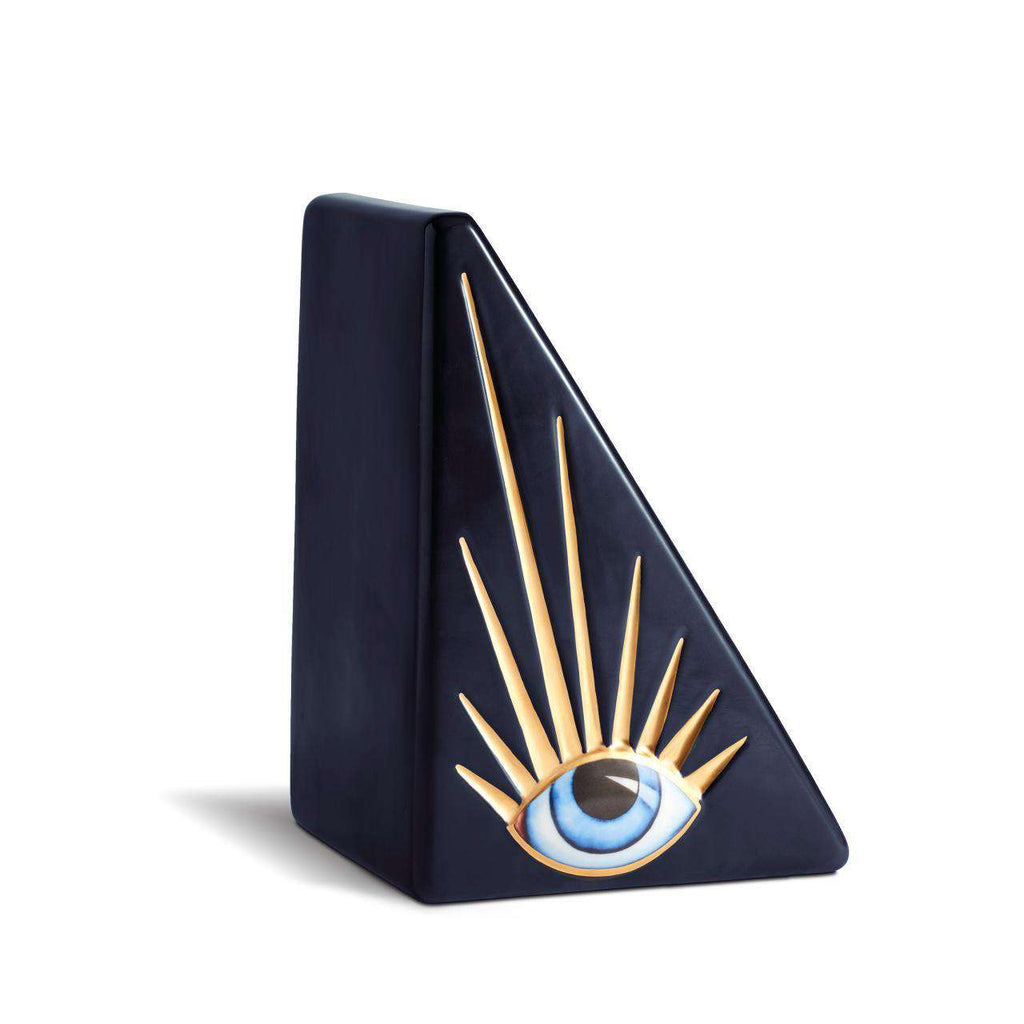 Lito Bookend - Blue & Gold