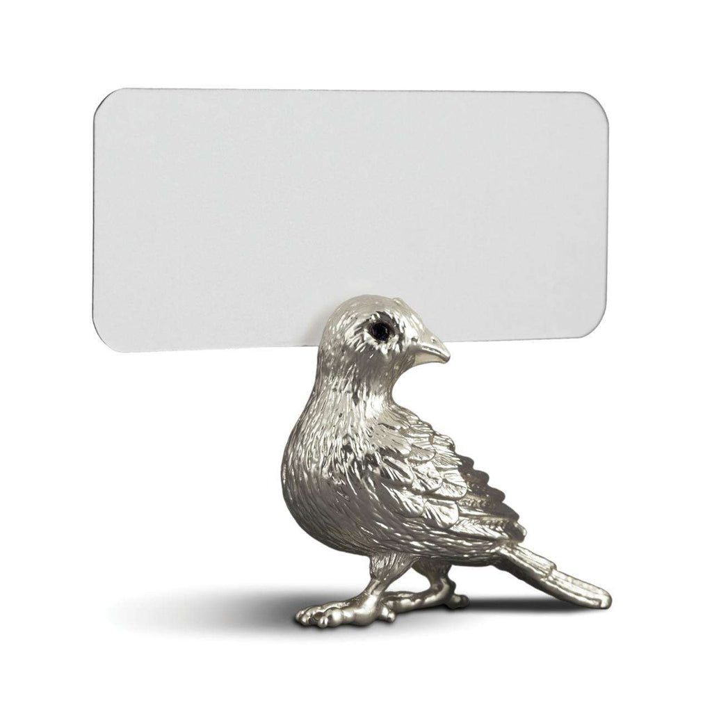 Bird Place Card Holders - Platinum - L'Objet