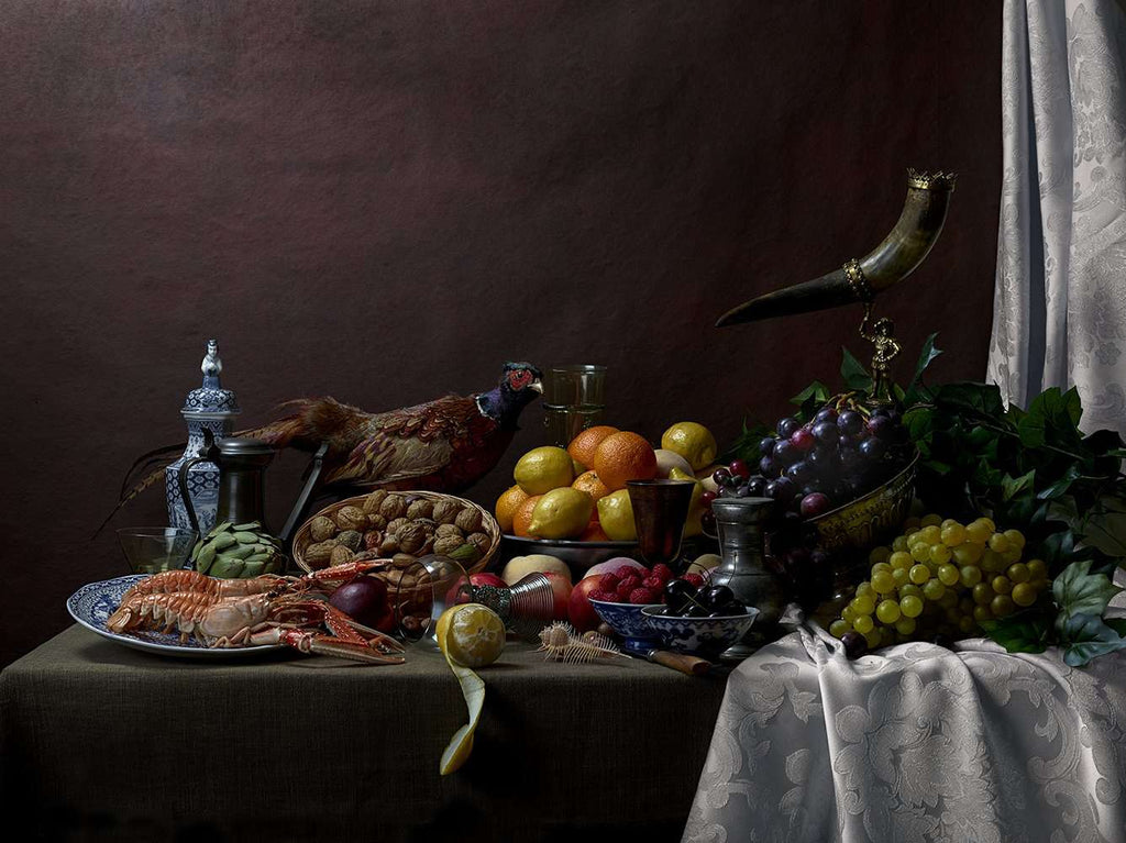Pronkstillife with Pheasant - TERTIUS COLLECTION