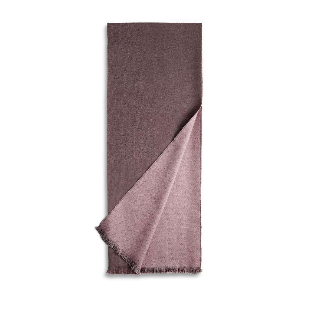 Double Face Throw - Mauve & Taupe - TERTIUS COLLECTION