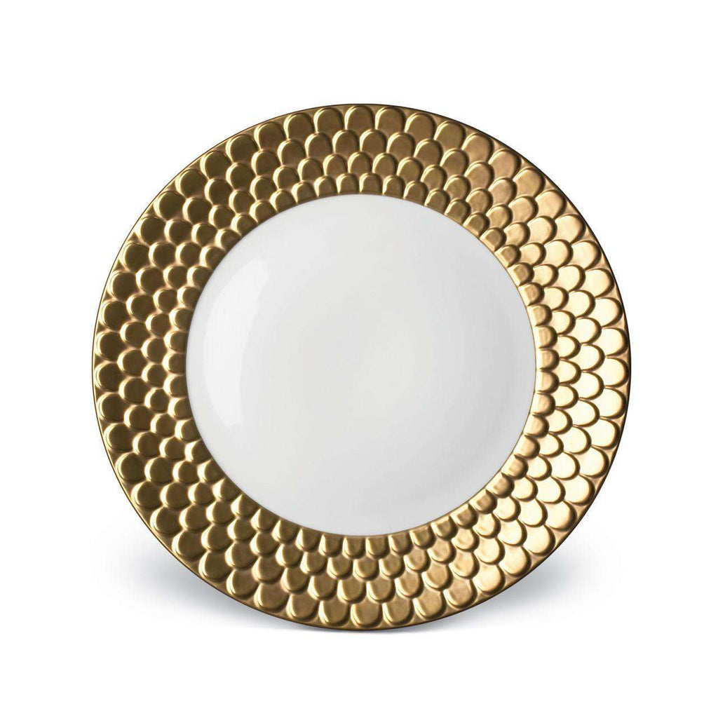 Aegean Dinner Plate - Gold - TERTIUS COLLECTION