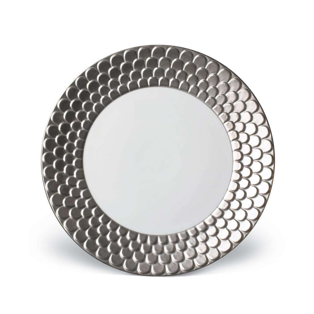Aegean Dinner Plate - Platinum - TERTIUS COLLECTION
