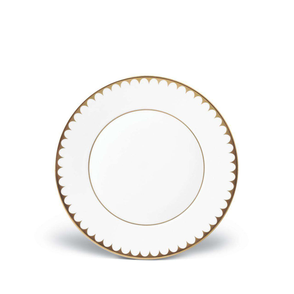 Aegean Filet Dessert Plate - Gold - TERTIUS COLLECTION