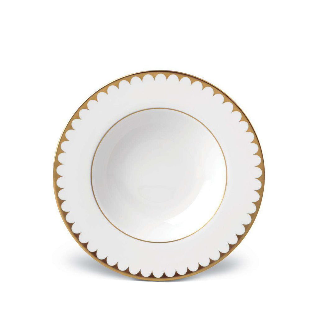 Aegean Filet Soup Plate - Gold - TERTIUS COLLECTION