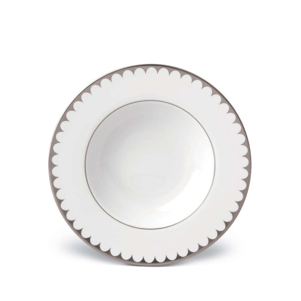 Aegean Filet Soup Plate - Platinum - TERTIUS COLLECTION