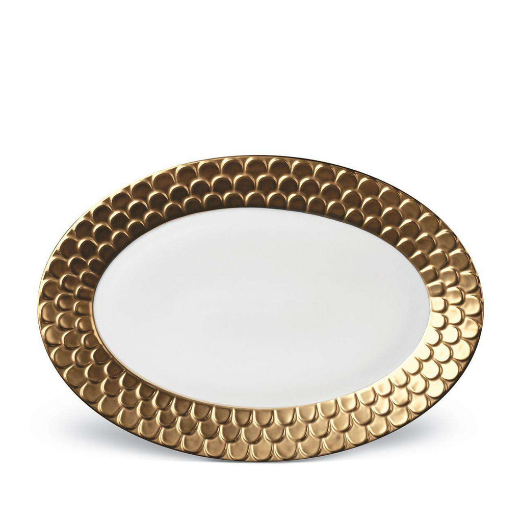 Aegean Oval Platter - Large - Gold - TERTIUS COLLECTION