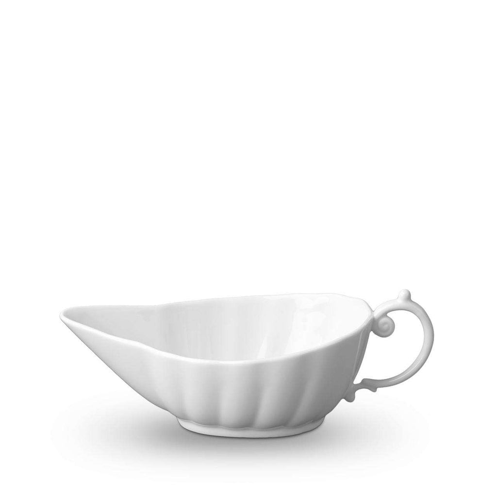 Aegean Sauce Boat - White - TERTIUS COLLECTION