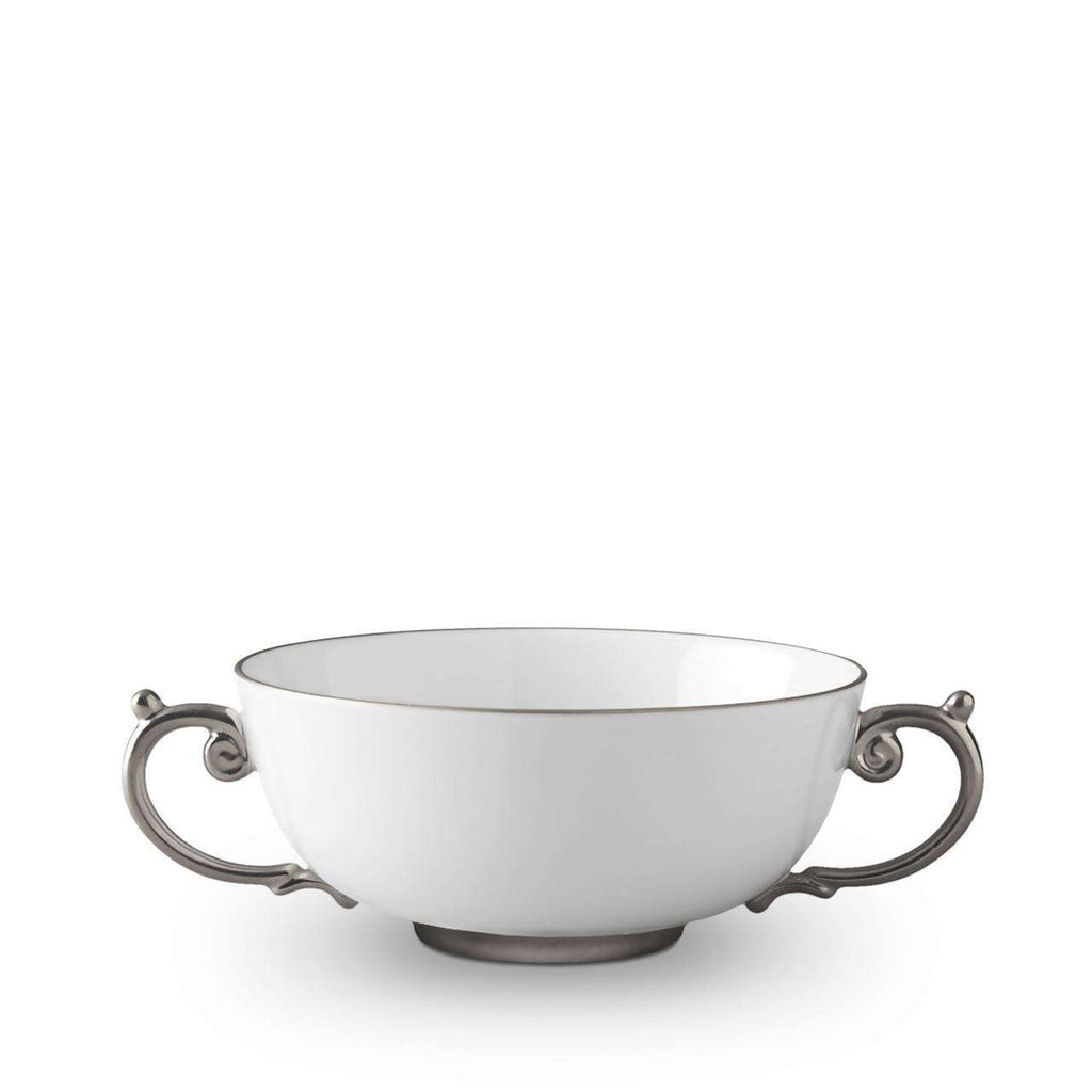 Aegean Soup Bowl - Medium - Platinum - TERTIUS COLLECTION