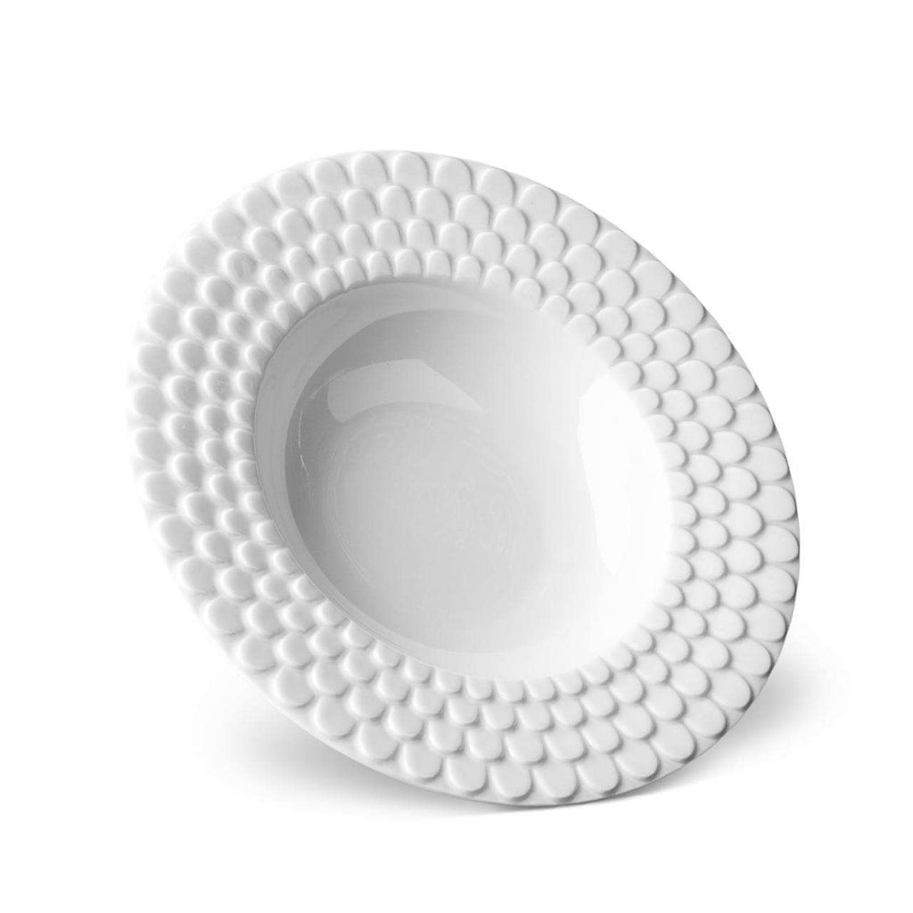 Aegean Soup Plate - White - TERTIUS COLLECTION