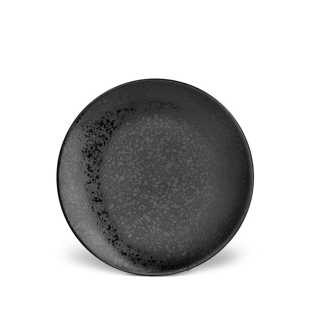 Alchimie Dessert Plate - Black - TERTIUS COLLECTION