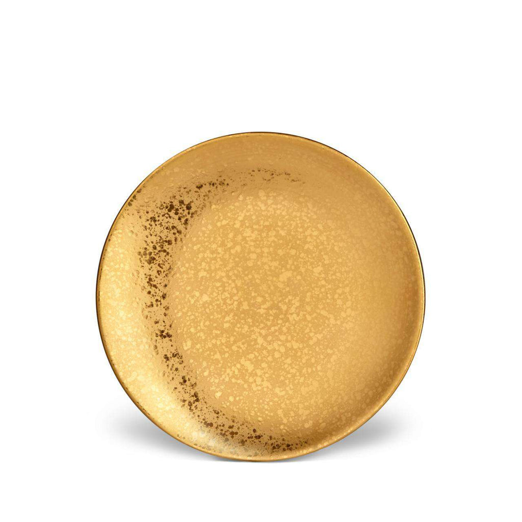 Alchimie Dessert Plate - Gold - TERTIUS COLLECTION