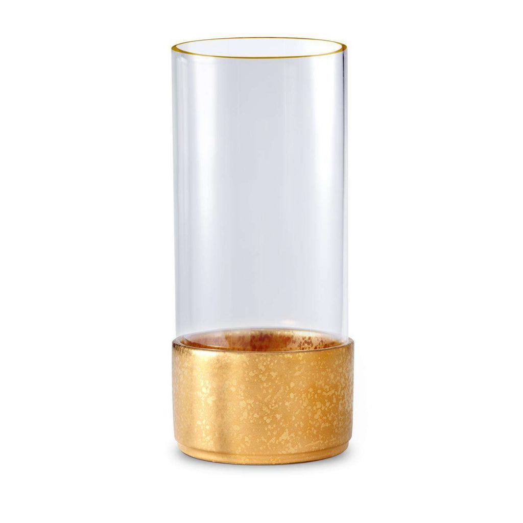 Alchimie Hurricane Lantern - Large - Gold - TERTIUS COLLECTION