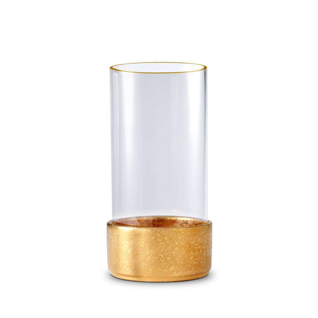 Alchimie Hurricane Lantern - Small - Gold - TERTIUS COLLECTION