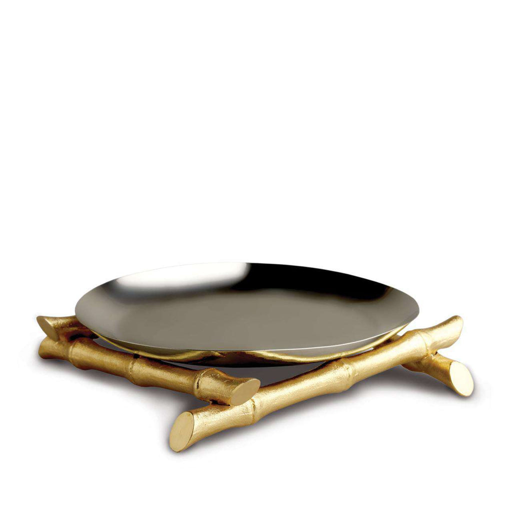 Bambou Round Platter - Large - TERTIUS COLLECTION