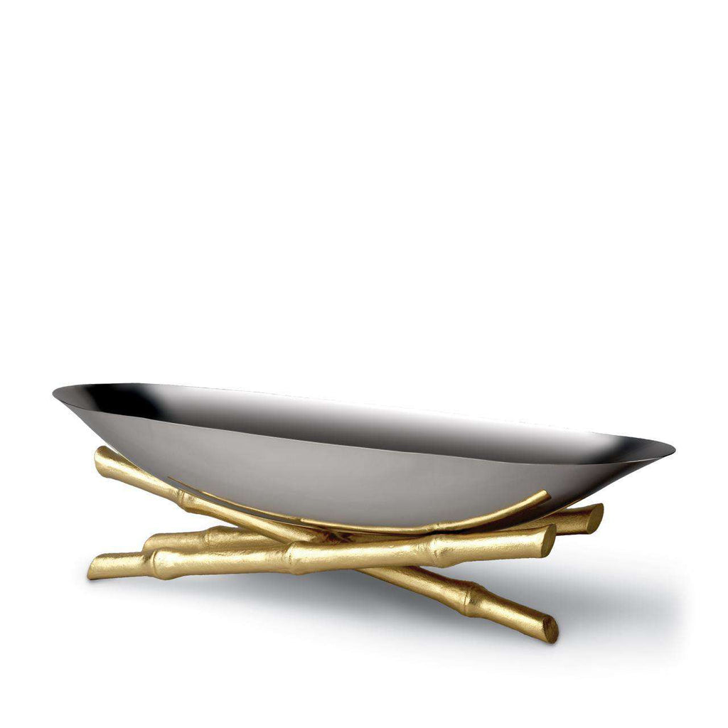 Bambou Serving Boat - Large - TERTIUS COLLECTION