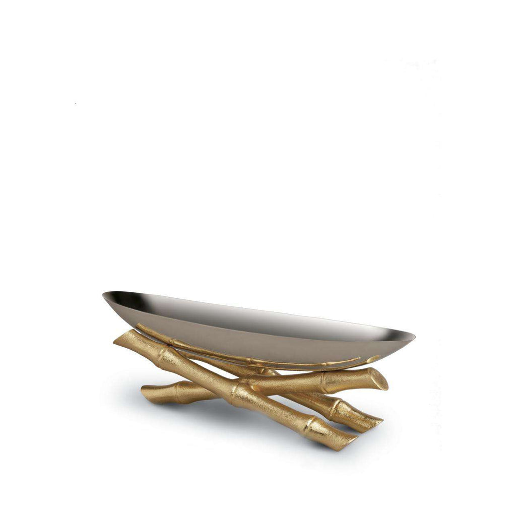 Bambou Serving Boat - Small - TERTIUS COLLECTION