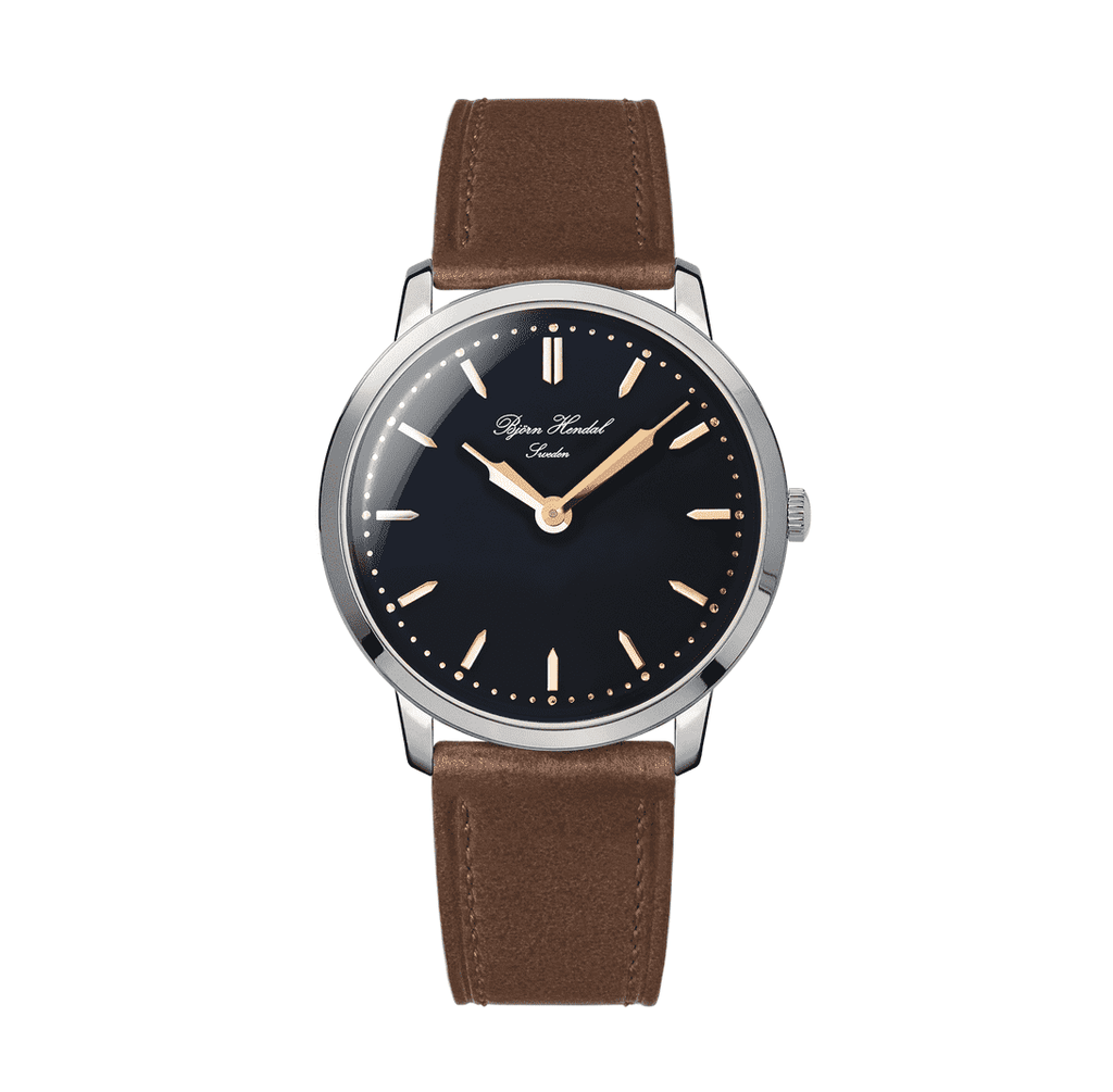 Björn Hendal Scepter - Black Dial - Stainless Steel case - TERTIUS COLLECTION