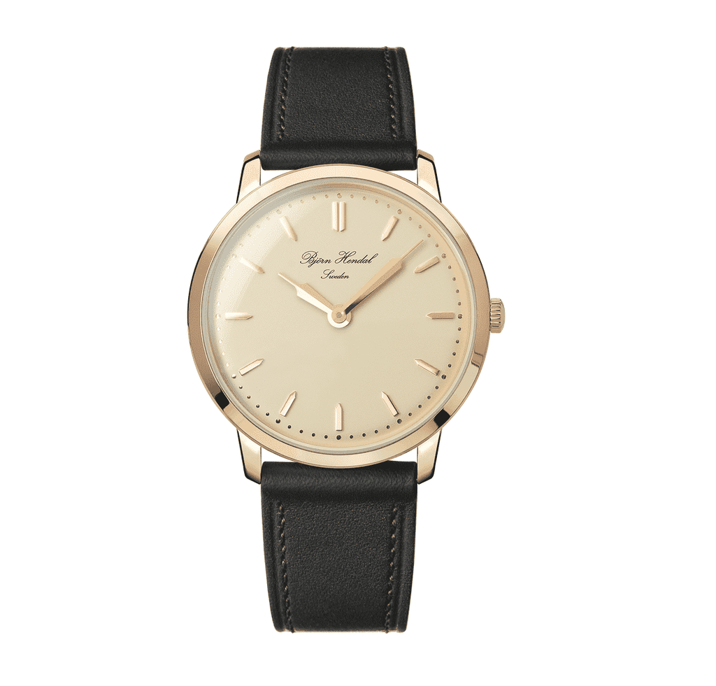 Björn Hendal Scepter - Pink Dial - Rosegold Plated case - TERTIUS COLLECTION