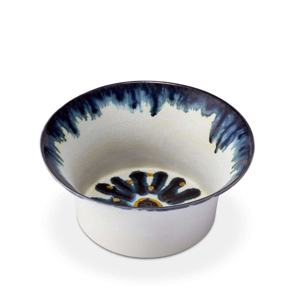Bohême Bowl - Medium - Blue & White - TERTIUS COLLECTION