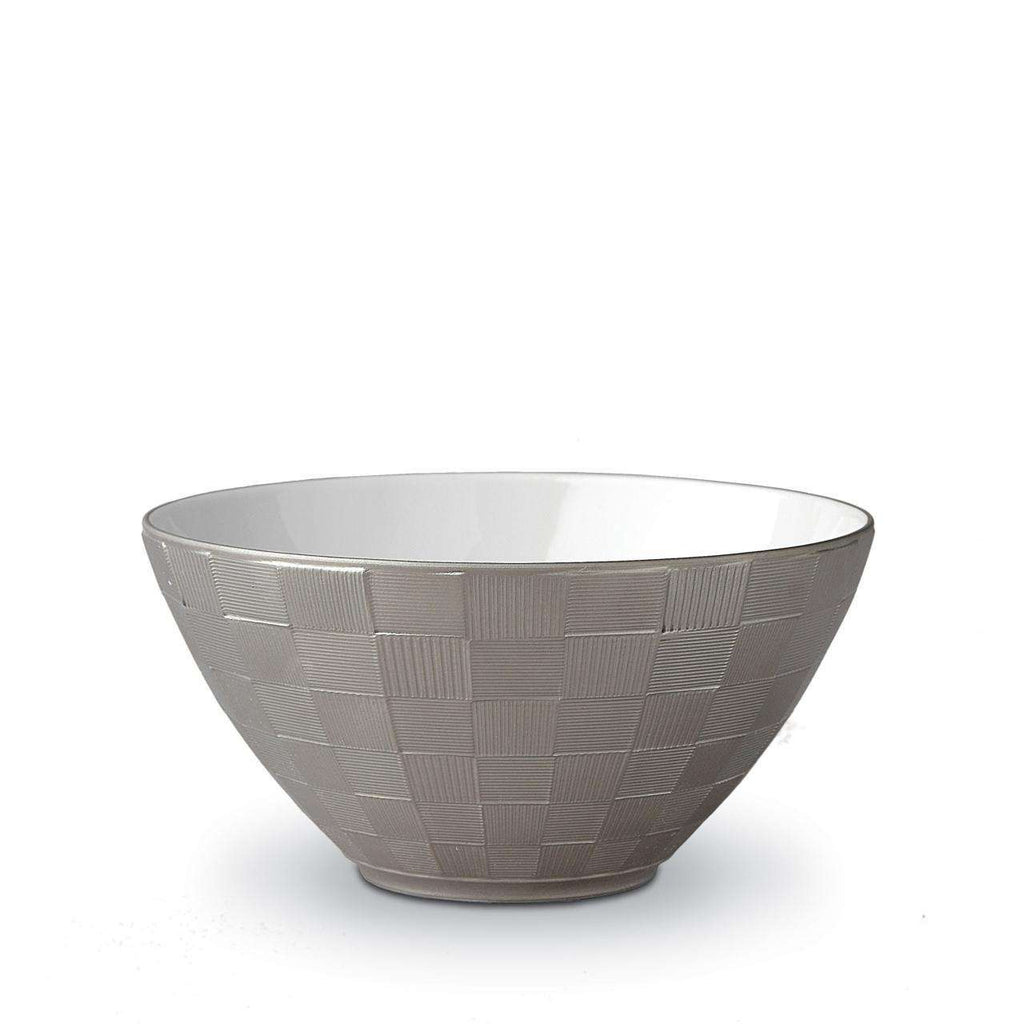 Byzanteum Cereal Bowl - Medium - Platine - TERTIUS COLLECTION
