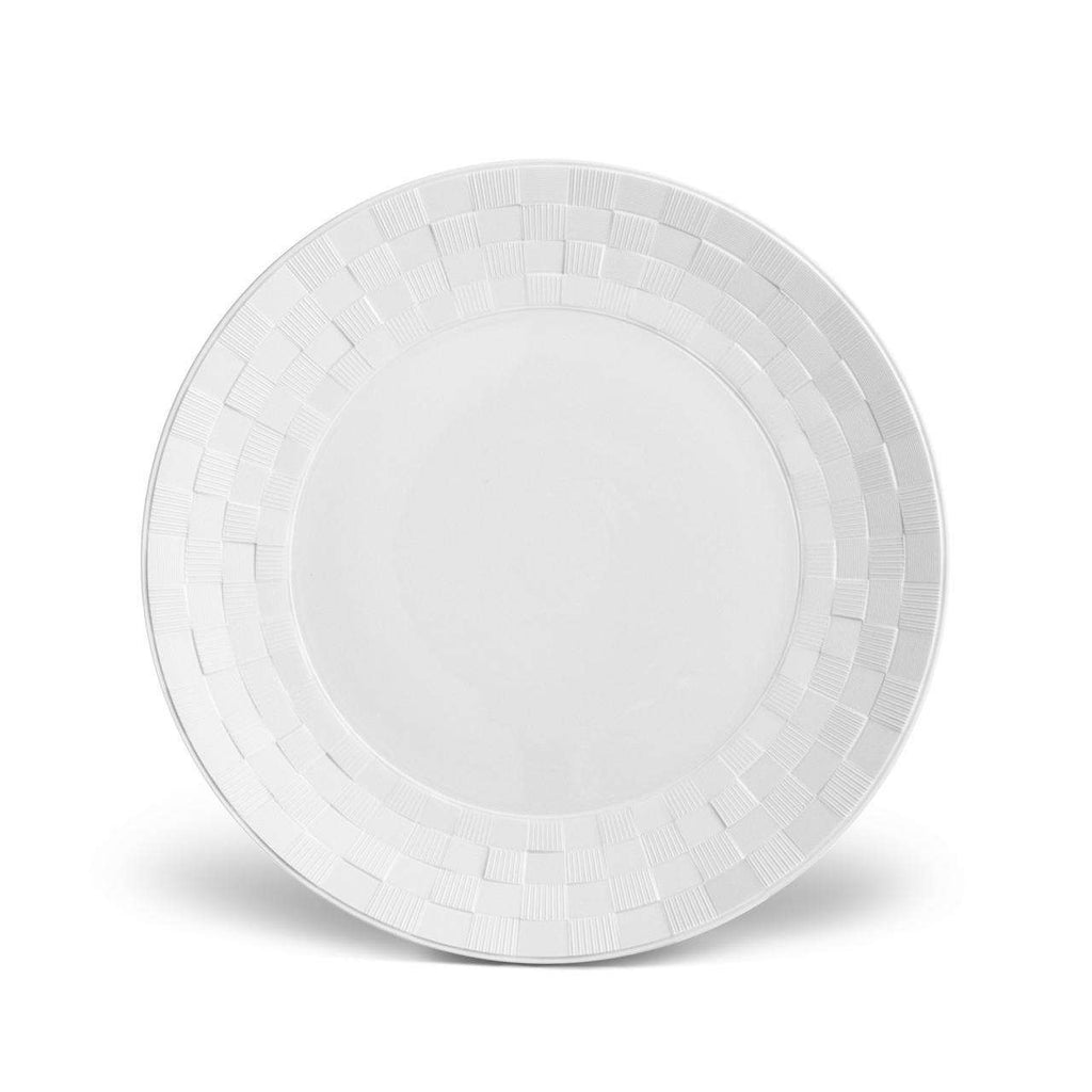 Byzanteum Dinner Plate - Blanc - TERTIUS COLLECTION