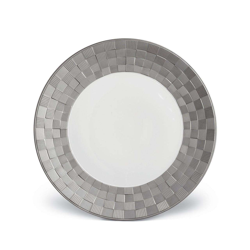Byzanteum Dinner Plate - Platine - TERTIUS COLLECTION