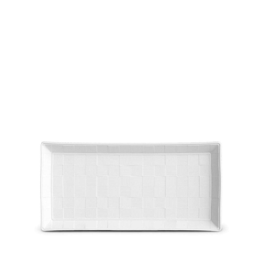 Byzanteum Rectangular Tray - Small - Blanc - TERTIUS COLLECTION