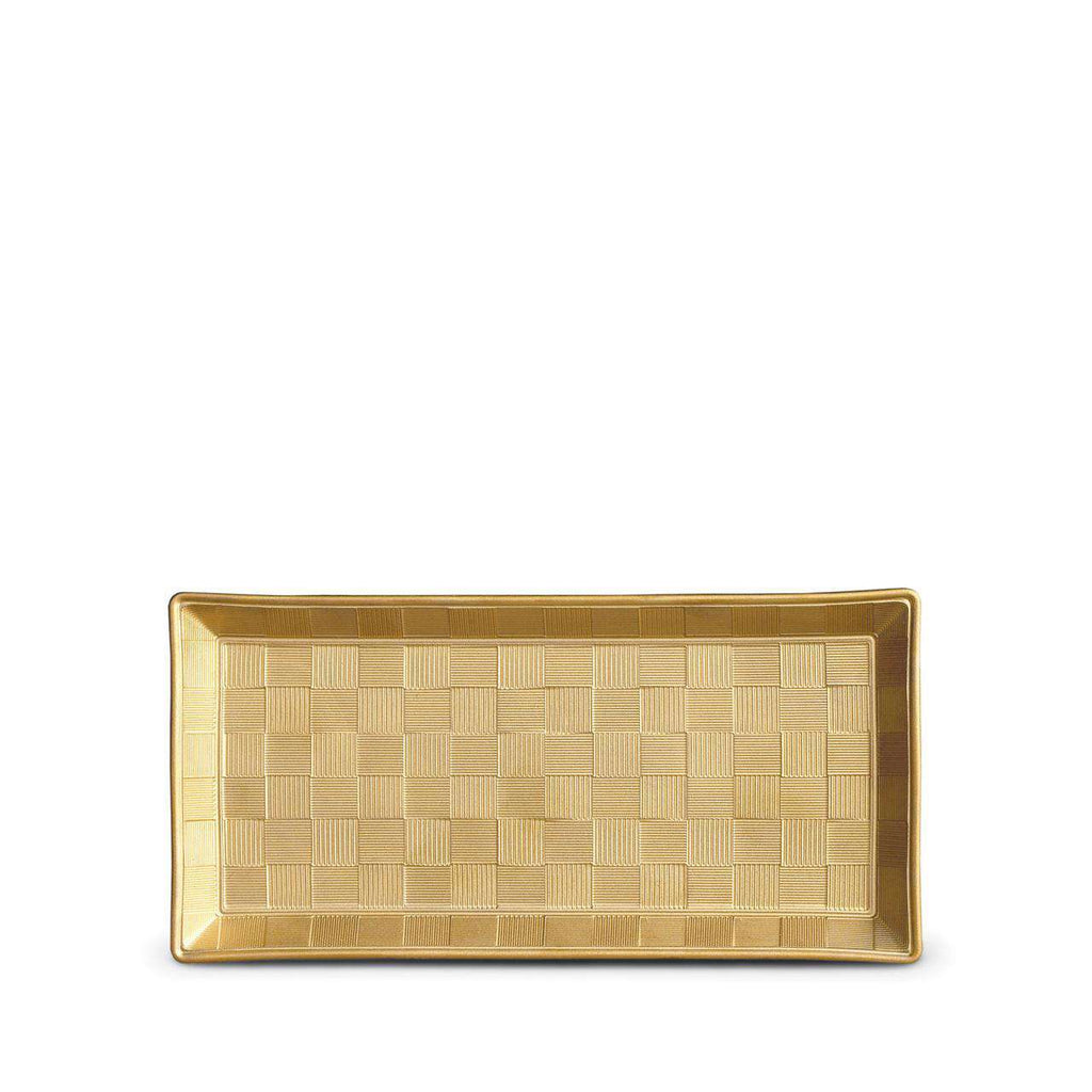 Byzanteum Rectangular Tray - Small - Or - TERTIUS COLLECTION