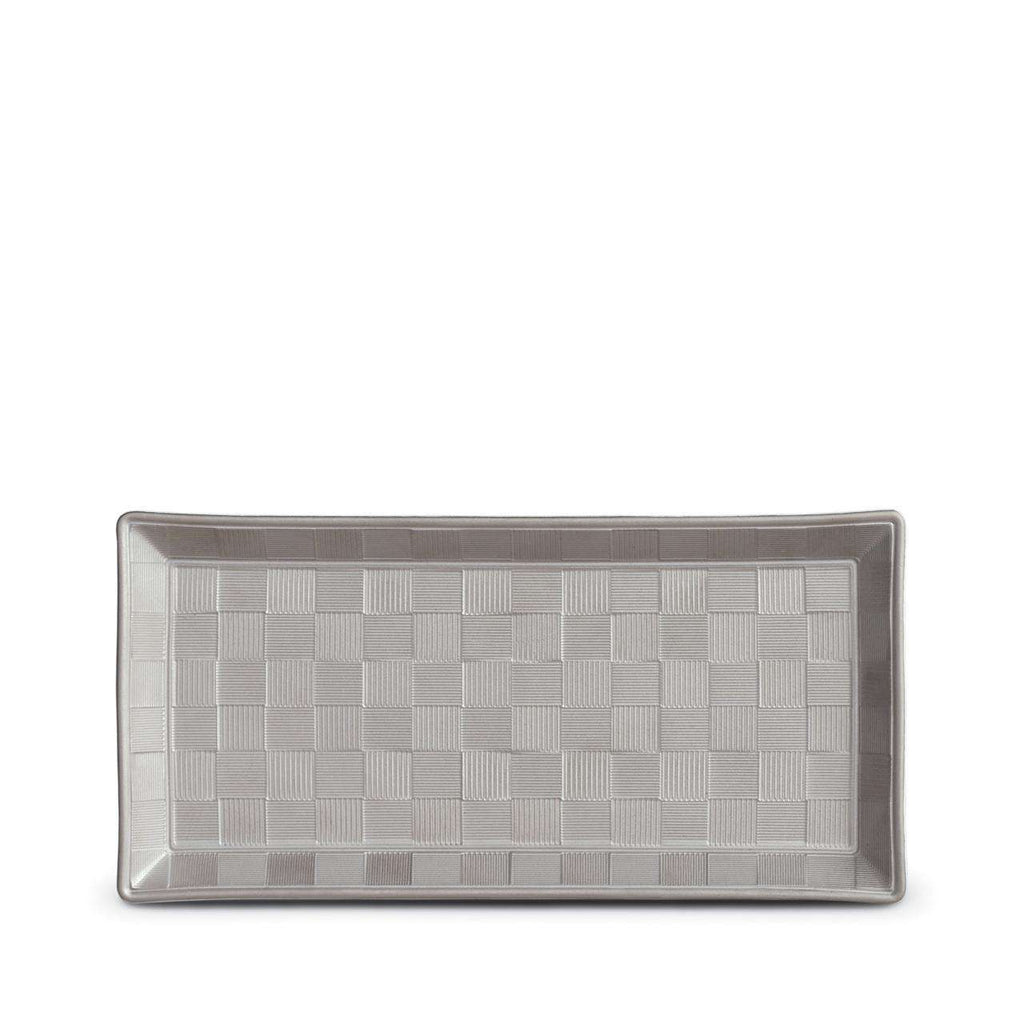 Byzanteum Rectangular Tray - Small - Platine - TERTIUS COLLECTION