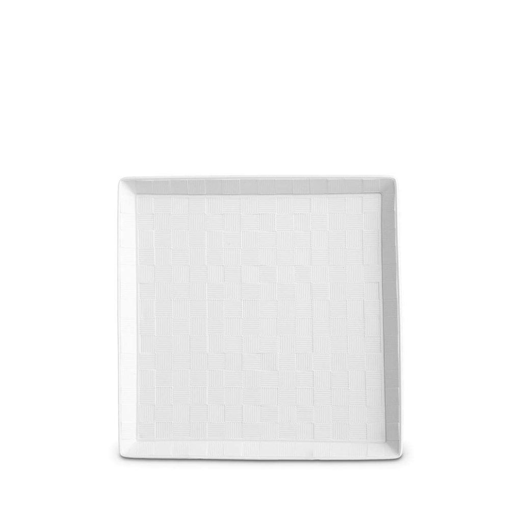 Byzanteum Square Tray - Small - Blanc - TERTIUS COLLECTION