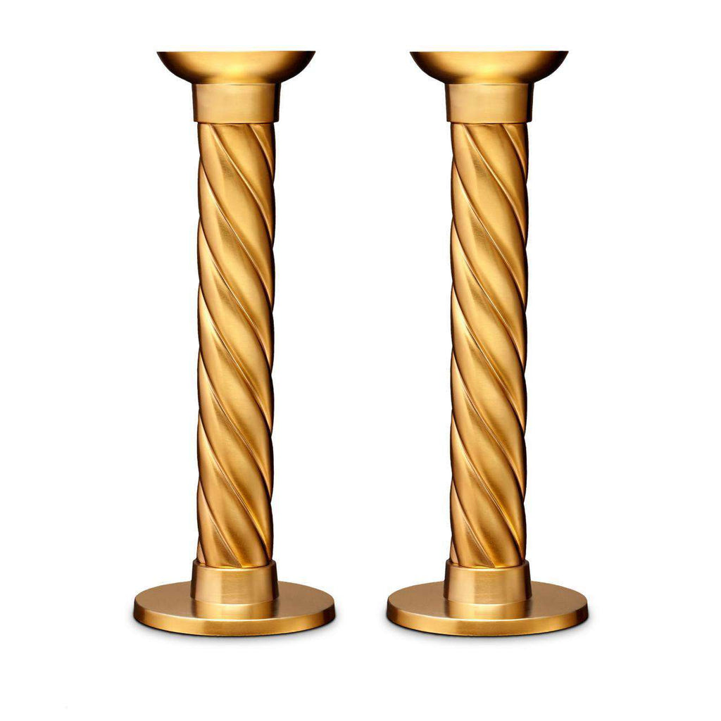 Carrousel Candlesticks - Large - Gold - TERTIUS COLLECTION