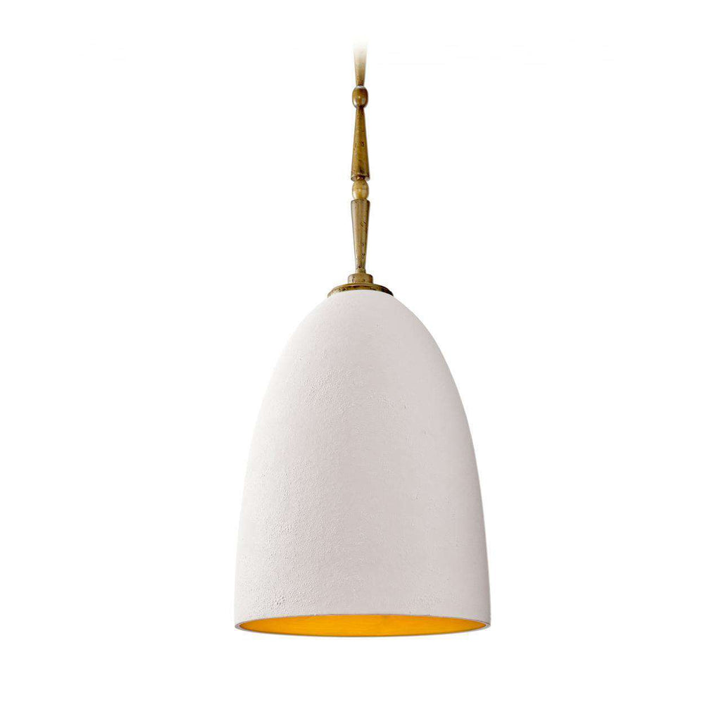 Celestial Smooth Hanging Lamp - White & Gold - TERTIUS COLLECTION