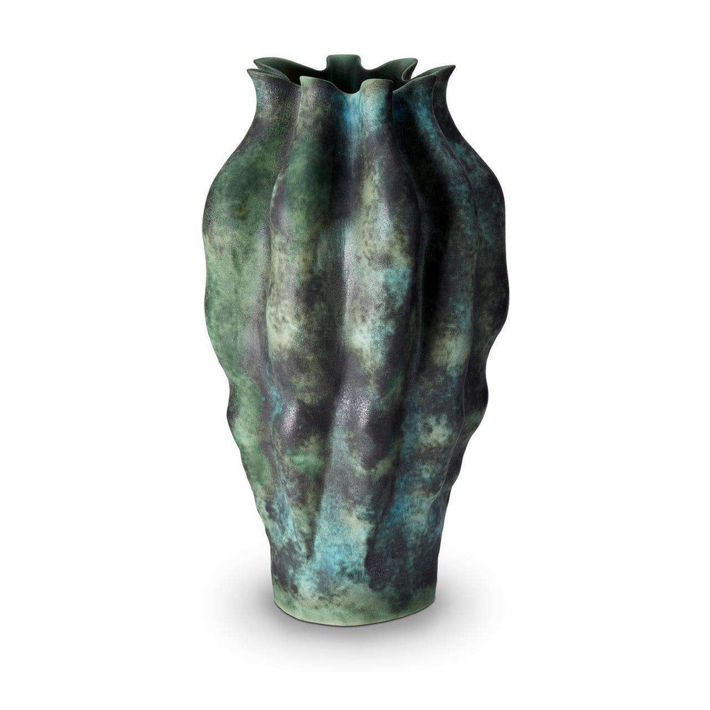 Cenote Vase - X-Large - Green - TERTIUS COLLECTION