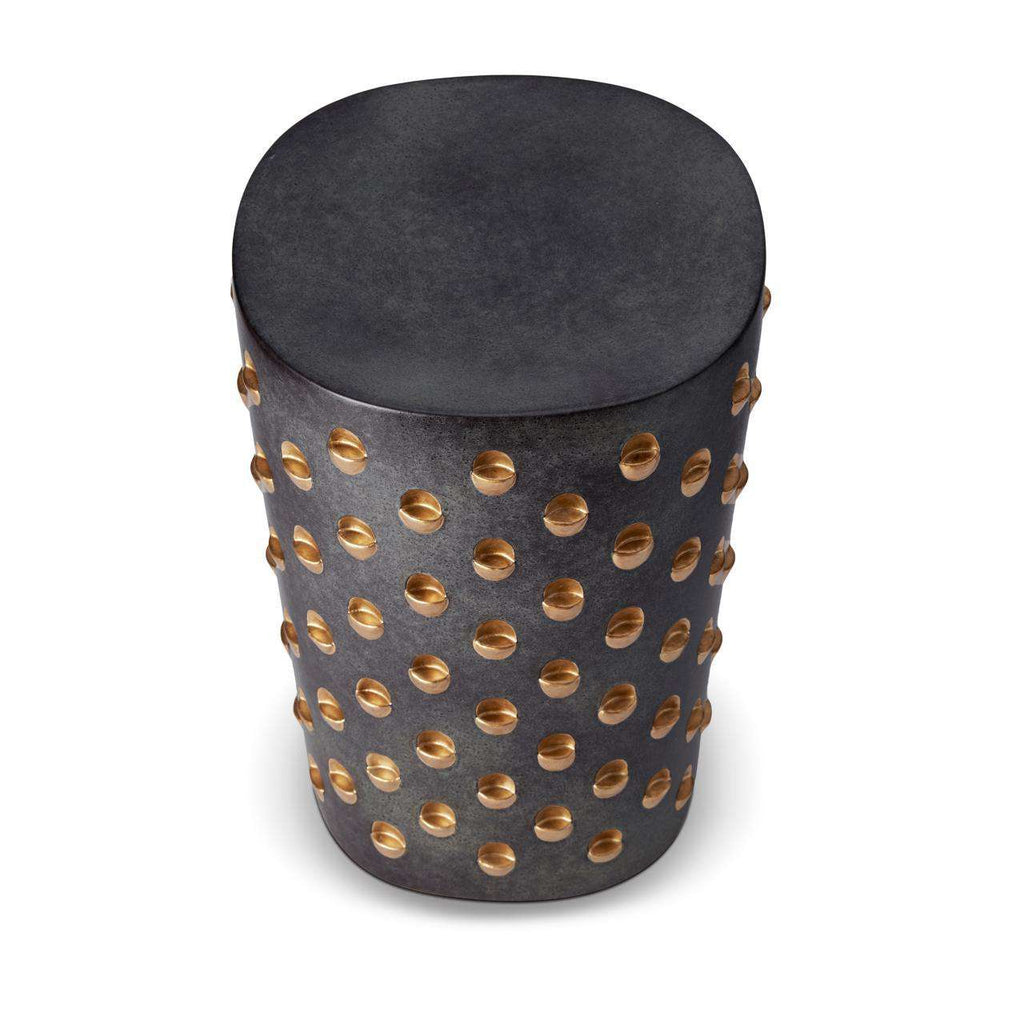 Coba Stool - Aged Bronze - TERTIUS COLLECTION