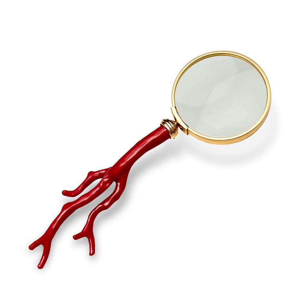Coral Magnifying Glass - TERTIUS COLLECTION