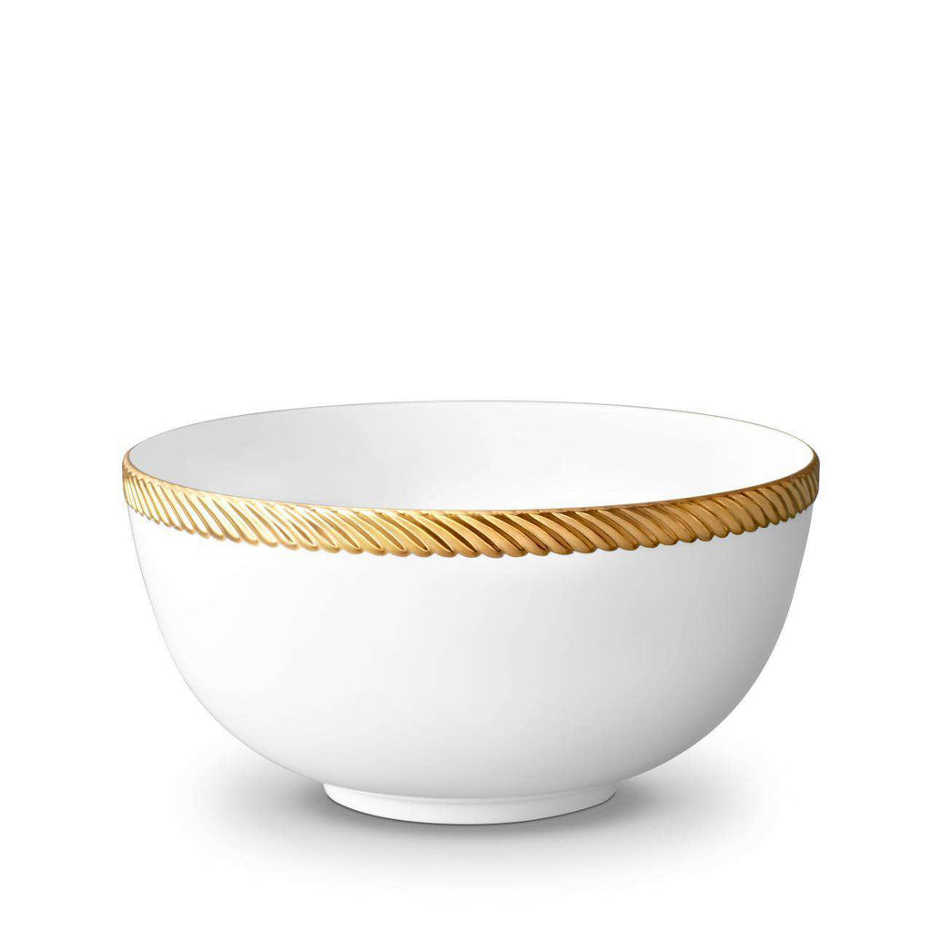 Corde Bowl - Large - Gold - TERTIUS COLLECTION