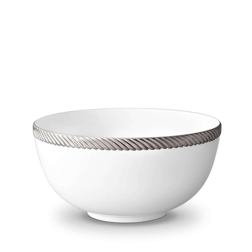 Corde Bowl - Large - Platinum - TERTIUS COLLECTION