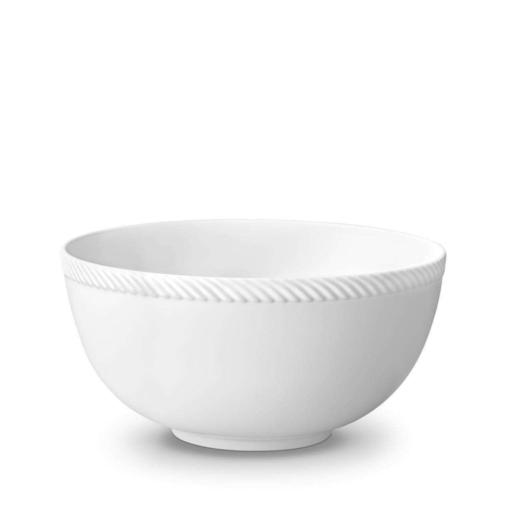 Corde Bowl - Large - White - TERTIUS COLLECTION