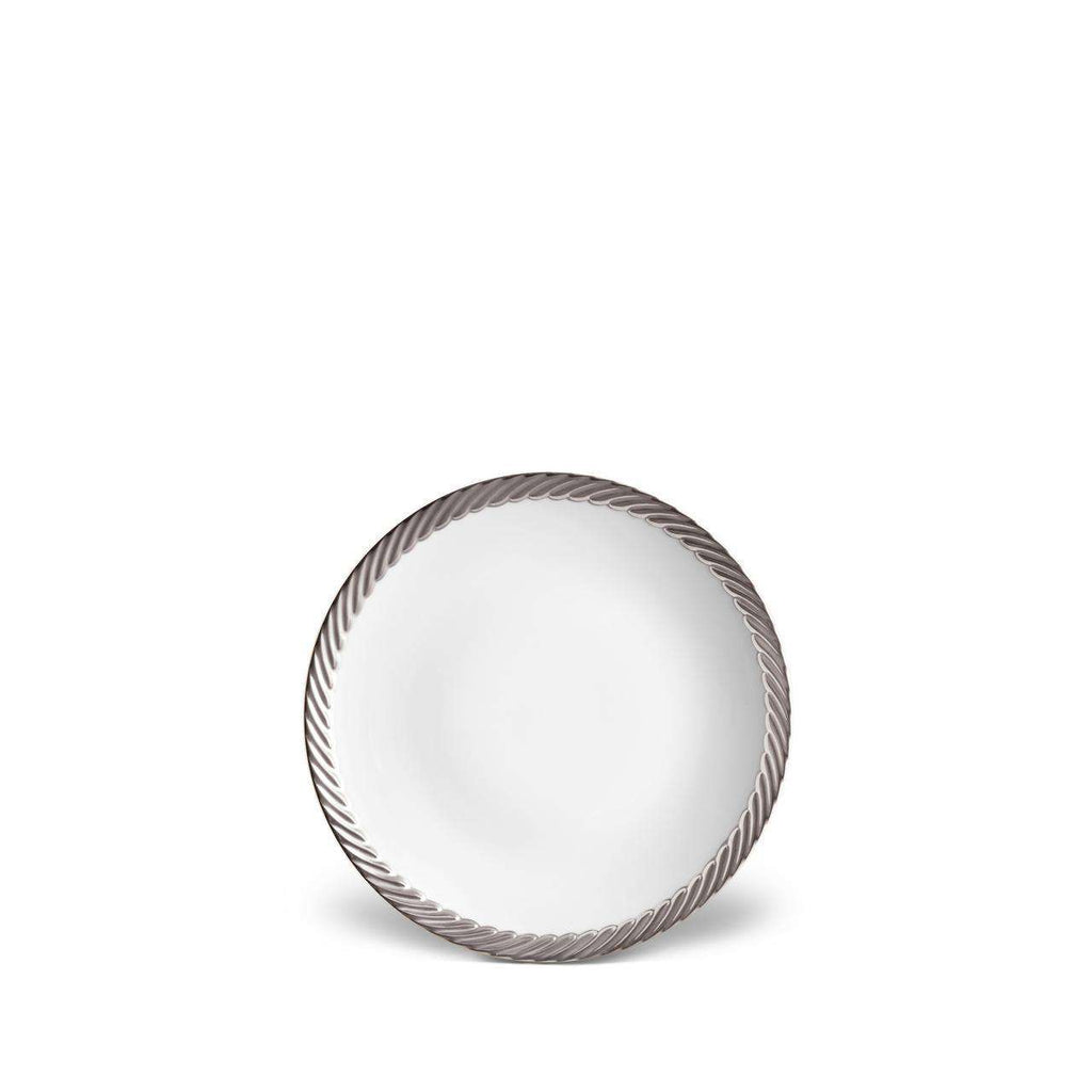 Corde Bread & Butter Plate - Platinum - TERTIUS COLLECTION