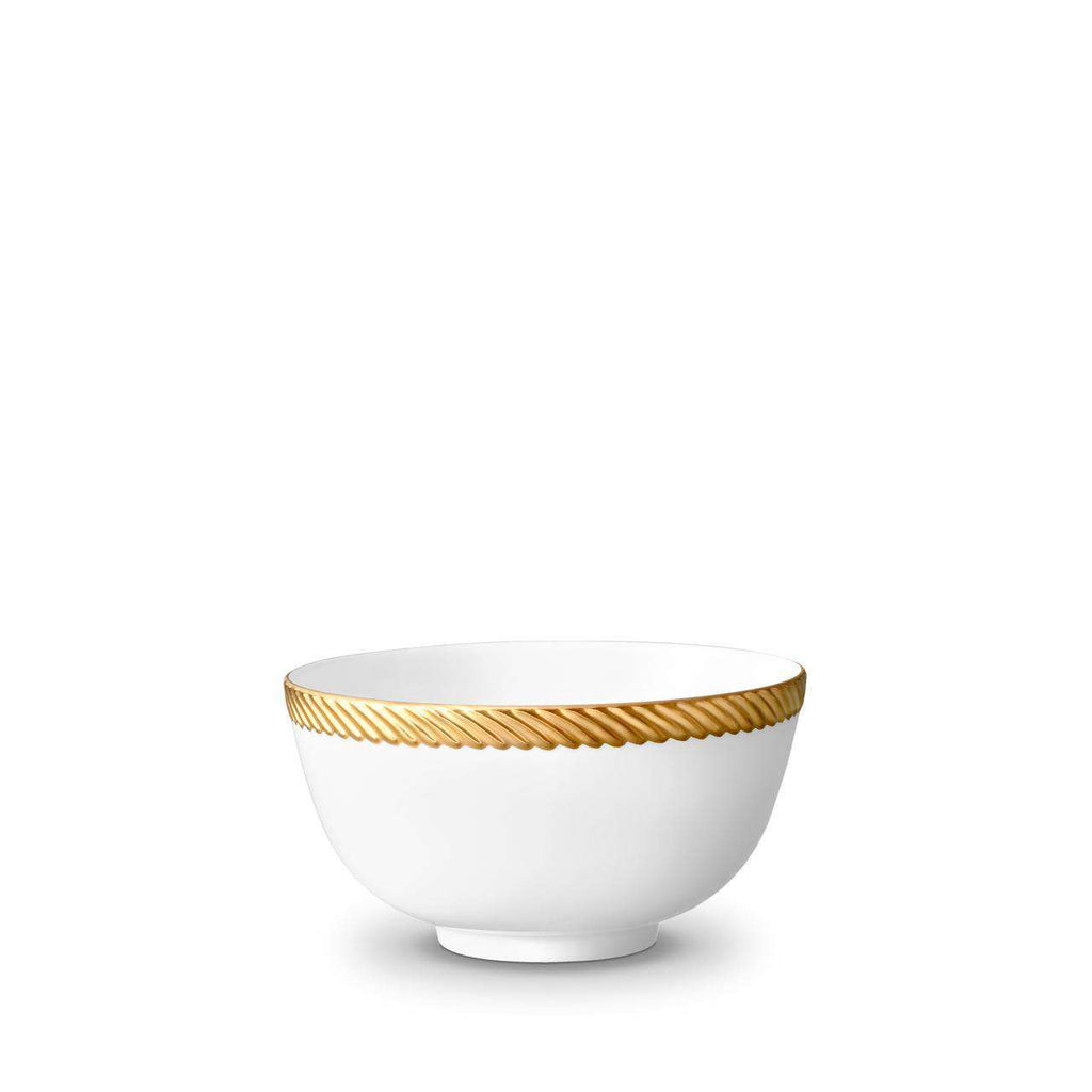 Corde Cereal Bowl - Medium - Gold - TERTIUS COLLECTION